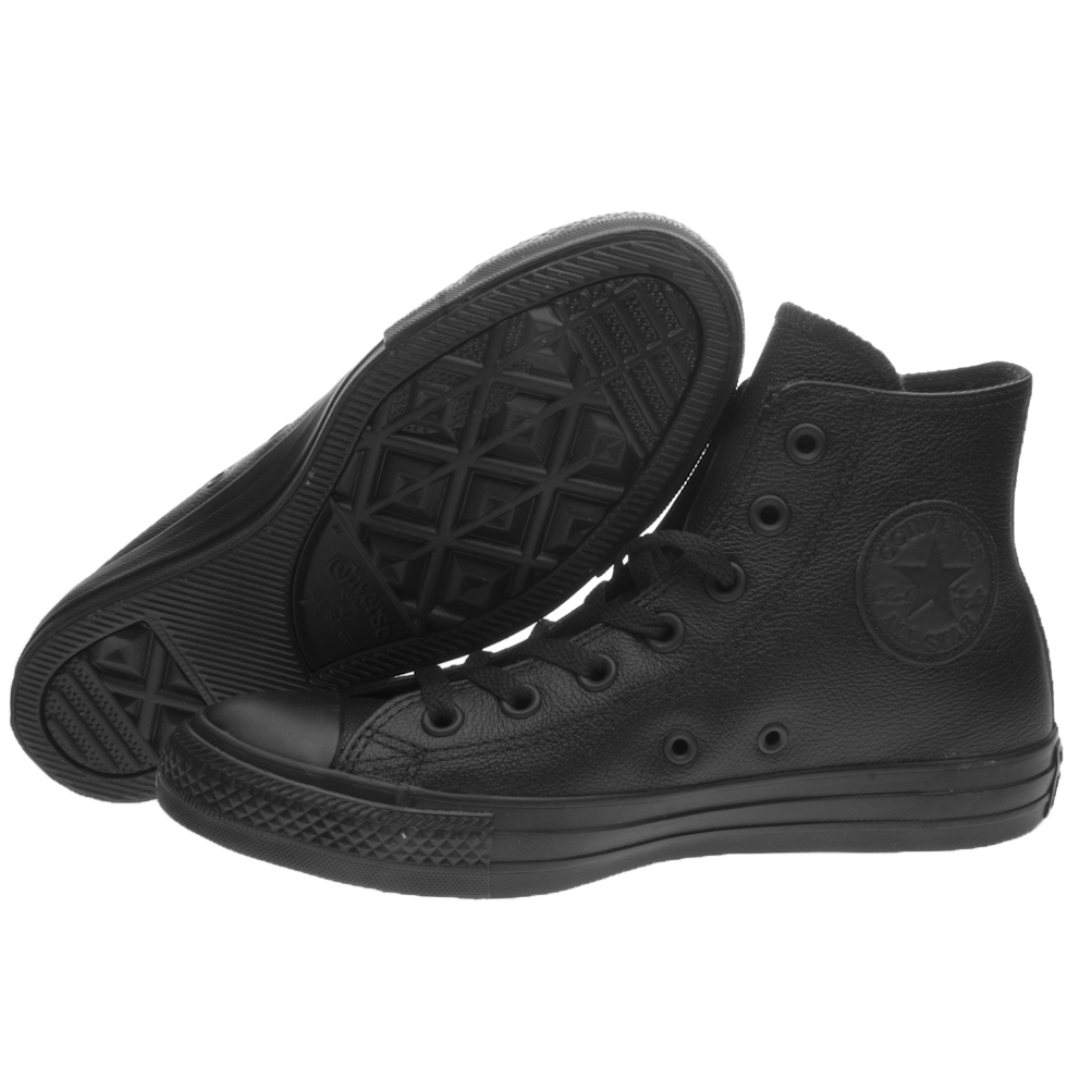 CONVERSE TUTTO STAR CT AS HI Pelle 135251C Nero Mono NERO NUOVO