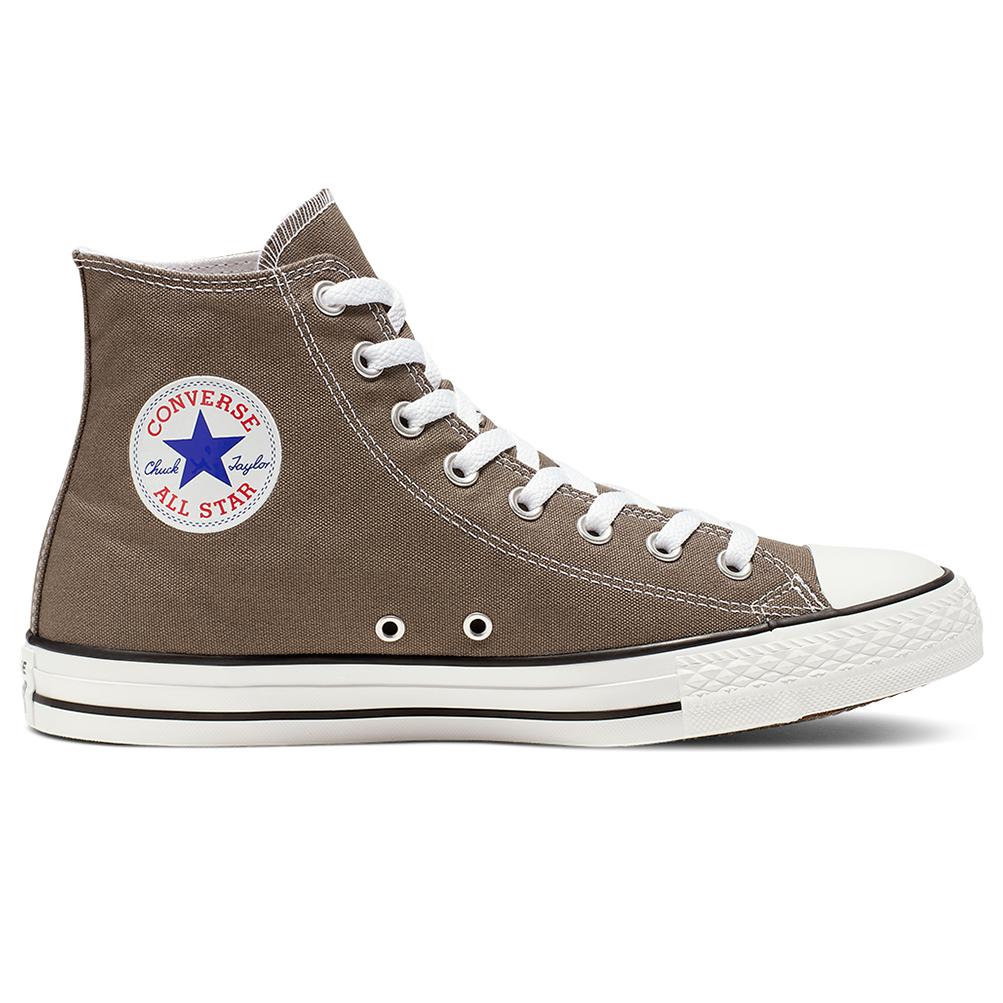 Converse Chuck All Star Sneaker Scarpe da Ginnastica Piatte Scarpe SEASNL OX CHARCOAL GRIGIO