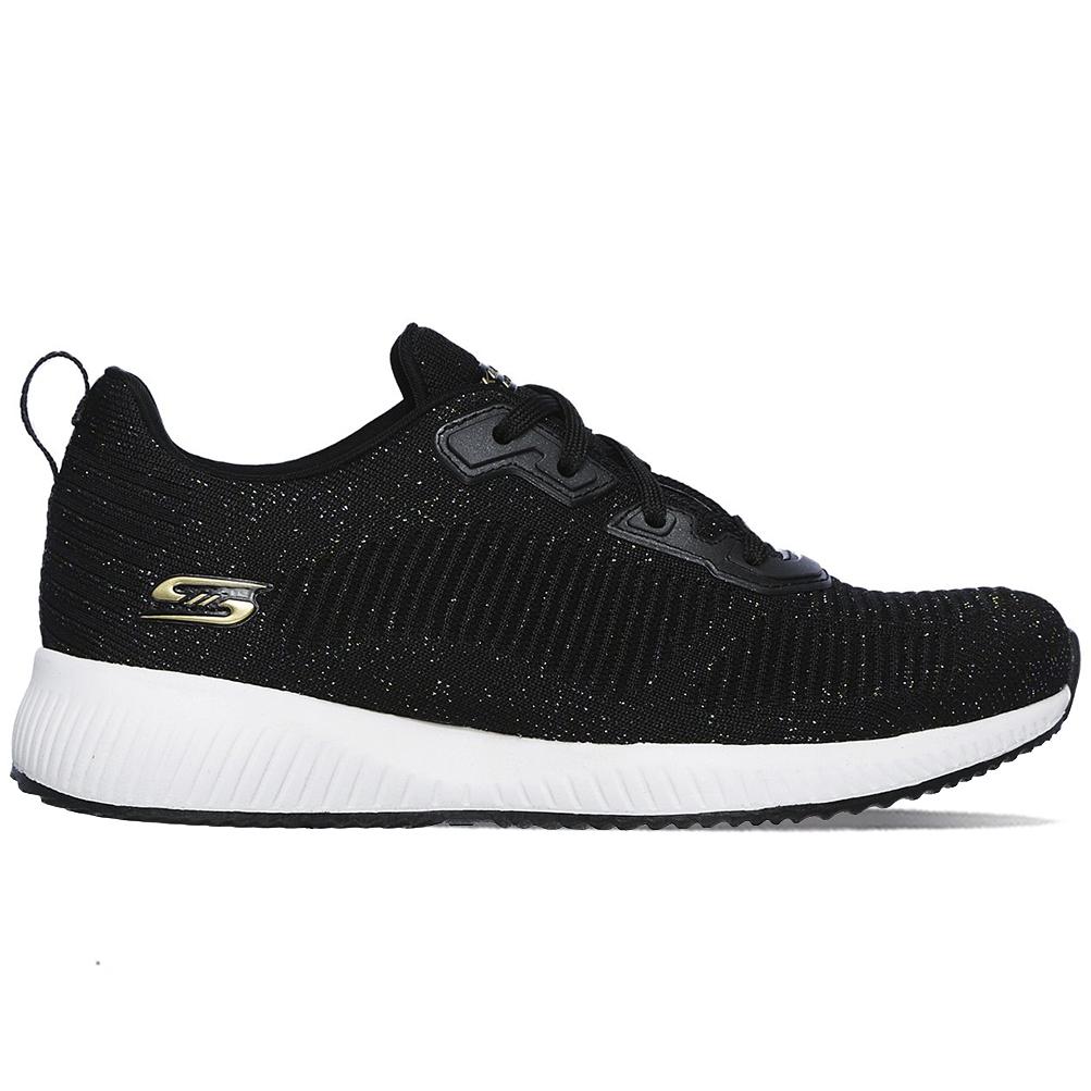 Schuhe Skechers Bobs Squad Total Glam 32502 BKMT 9W   eBay waS0R