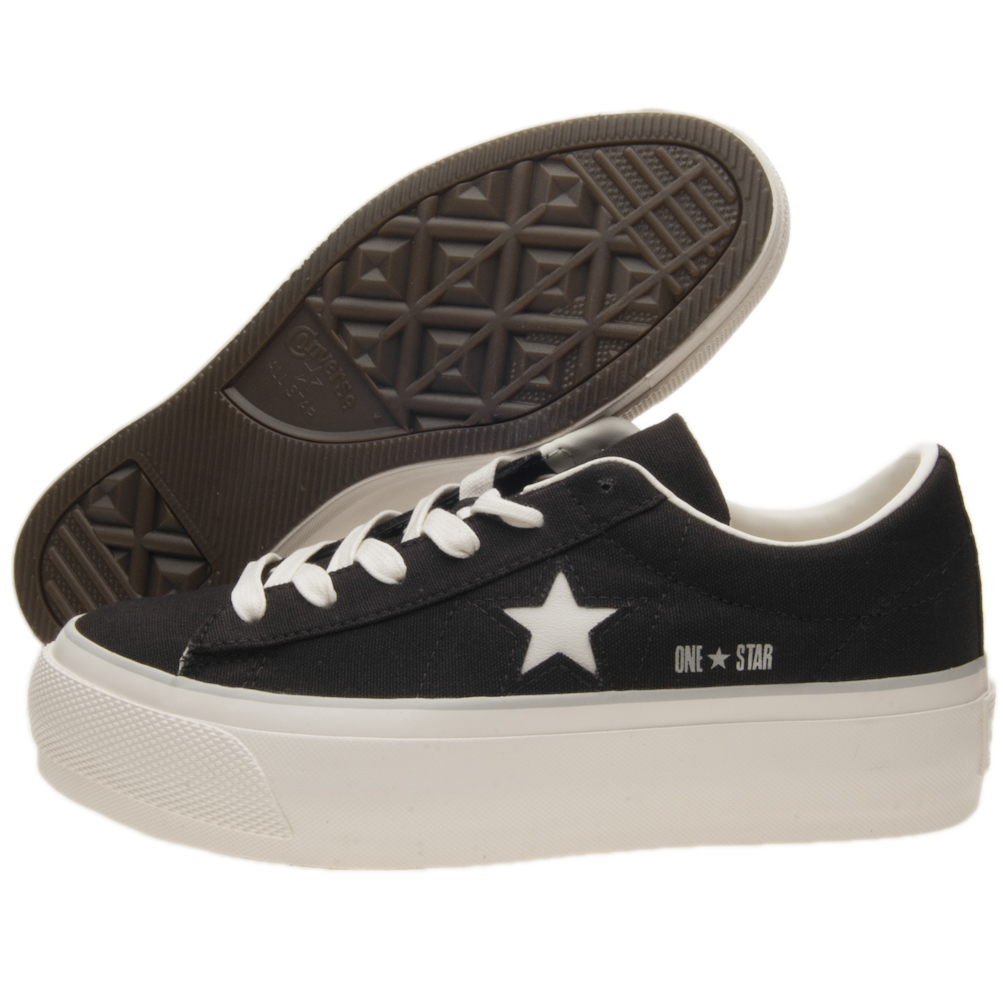 SCARPE CONVERSE ONE STAR PLATFORM OX TG 36 COD 560996C 9W US 5.5 UK 3.5 CM 22