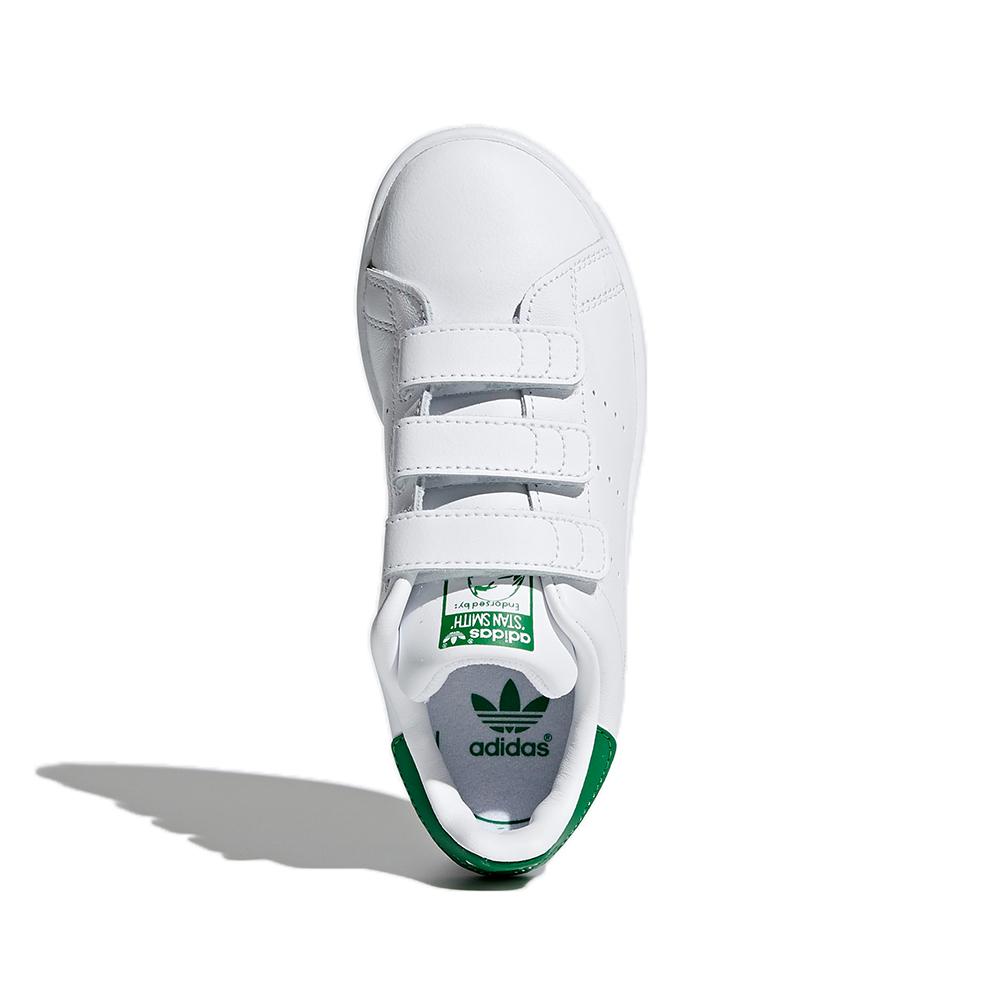 Détails sur Adidas ChaussureGarçonsFilles Baskets Stan Smith Cf C Art. M20607 avec Velcro